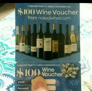 $100 Wine Voucher